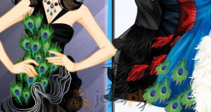 Suknie z piórami