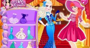 Księżniczki Disneya na pokazie mody