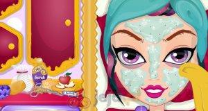 Sekretny makijaż Raven Queen