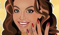 Paznokcie Beyonce