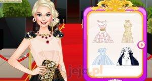 Barbie na czerwonym dywanie