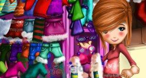 Świąteczna laleczka