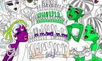Kolorowanka - Monster High