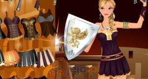 Dziewczyna gladiator