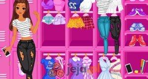 Szkolna szafka księżniczki