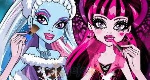Szkolny makijaż Monsterek