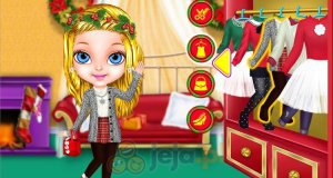 Baby Barbie i magiczne święta