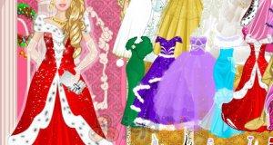 Księżniczka na świątecznym balu