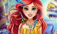 Zwariowana fryzura Ariel