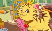 Kolorowanka wesołe koty