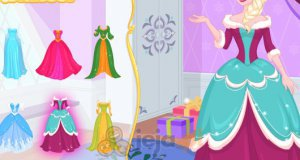 16-letnia Elsa kiedyś i teraz