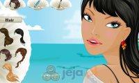Makijaż na plaży