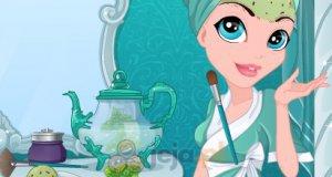 Makijaż lodowej księżniczki