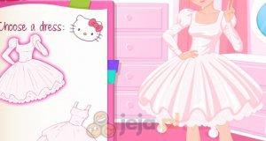 Projektowanie sukienki w stylu Hello Kitty