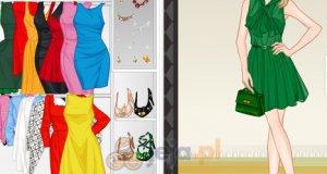 Jednokolorowe sukienki