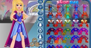 Intergalactic Supergirl z DC Super Hero Girls