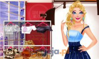 Barbie i Harley na pokazie mody