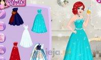 Księżniczki Disneya i błyszczące przyjęcie