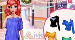 Zimowe stylizacje Belli i Arielki