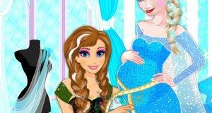 Ciążowa sukienka dla Elsy