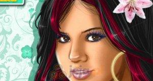 Piękna Selena