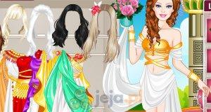 Barbie rzymską księżniczką