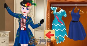 Nowoczesna Mary Poppins