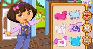 Dora szyje ubrania
