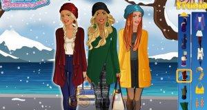 Zimowy pokaz mody