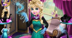 Elsa w górskim spa