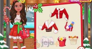 Świąteczna stylizacja Moany