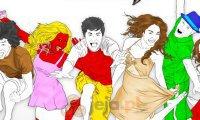 Kolorowanka High School Musical