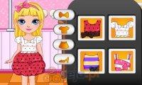 Mała Barbie i modowe wyzwanie