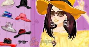 Kapelusze i okulary