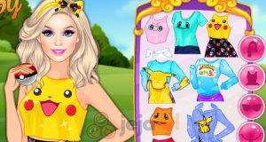 Barbie i ciuszki z Pokemon Go