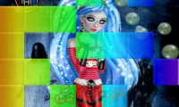 Kwadratowe puzzle Monster High
