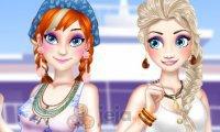 Wiosenne ferie Anny i Elsy