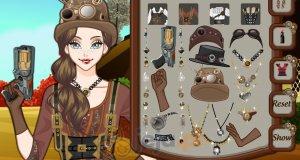 Makijaż w stylu steampunk