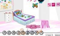 Pokój w motyle