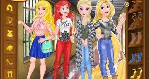 Księżniczki Disneya w szkole