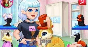 Crystal adoptuje króliczka