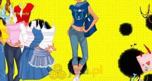 Dziewczyna lubiąca jeans