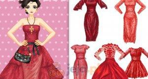 Czerwony pokaz mody