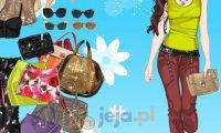 Nastolatka na wakacjach