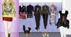 Pokaz mody w stylu punk