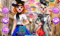 Anna i Elsa na portalu społecznościowym