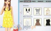 Falbankowe sukienki