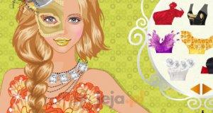Karnawałowy makijaż