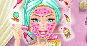 Prawdziwy makijaż Barbie