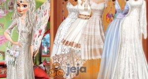 Księżniczki i ślub w stylu boho